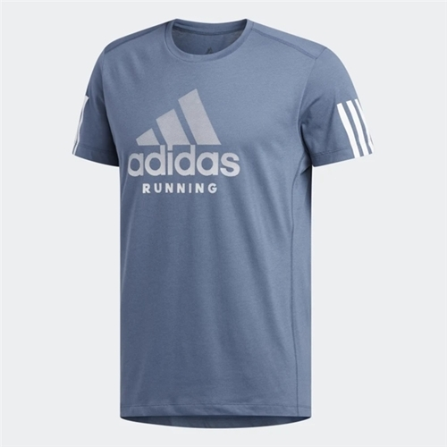 Que agradable Marcha atrás Reunión  Camiseta Adidas Run It Badge Of Sport Masculina - Produtos